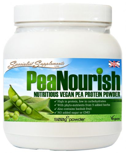 PeaNourish Powder- Nutritious Vegan Pea Protein Powder 500g